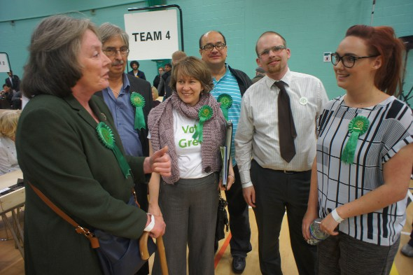 Local Members at an election count